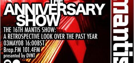 Mantis Radio 016 + Anniversary Special #1