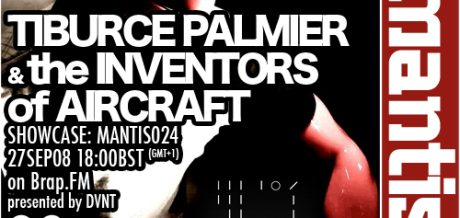 Flyer shows Tiburce Palimer artist picture and TIOA logo
