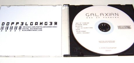 limited edition Galaxian CD 'End of Forever'