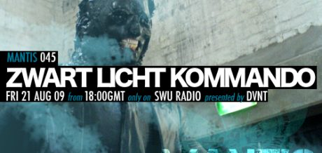 Mantis Radio 045 + Zwart Licht Kommando