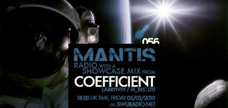 Mantis Radio 056 + Coefficient