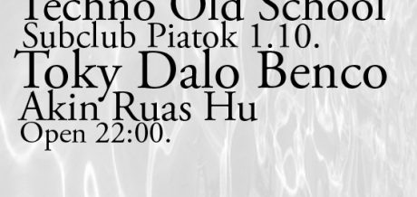 HU, live at Standa Old School, Subclub