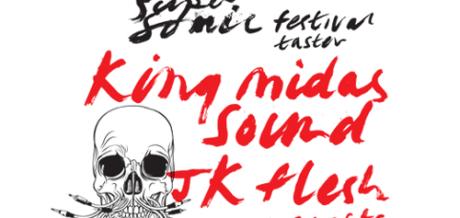 King Midas Sound, JK Flesh and Glatze at Corsica Studios for Supersonic Festival Taster 09.08.2012
