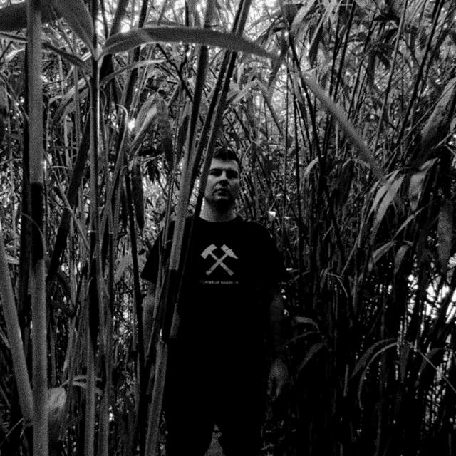 Darko Kolar (Katran) in tall grass